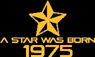 Jahrgang 1970 Geburtstagsshirt: stern geburtstag geboren 1975
