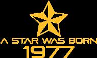 Jahrgang 1970 Geburtstagsshirt: stern geburtstag geboren 1977