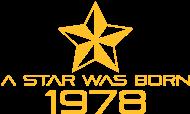 Jahrgang 1970 Geburtstagsshirt: stern geburtstag geboren 1978