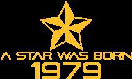 Jahrgang 1970 Geburtstagsshirt: stern geburtstag geboren 1979