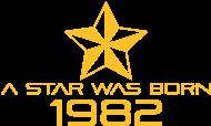 Jahrgang 1980 Geburtstagsshirt: stern geburtstag geboren 1982