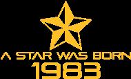 Jahrgang 1980 Geburtstagsshirt: stern geburtstag geboren 1983