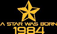 Jahrgang 1980 Geburtstagsshirt: stern geburtstag geboren 1984