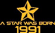 Jahrgang 1990 Geburtstagsshirt: stern geburtstag geboren 1991