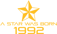 Jahrgang 1990 Geburtstagsshirt: stern geburtstag geboren 1992