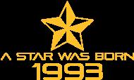 Jahrgang 1990 Geburtstagsshirt: stern geburtstag geboren 1993