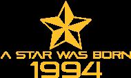 Jahrgang 1990 Geburtstagsshirt: stern geburtstag geboren 1994