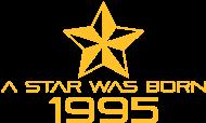 Jahrgang 1990 Geburtstagsshirt: stern geburtstag geboren 1995