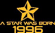 Jahrgang 1990 Geburtstagsshirt: stern geburtstag geboren 1996