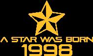 Jahrgang 1990 Geburtstagsshirt: stern geburtstag geboren 1998