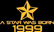 Jahrgang 1990 Geburtstagsshirt: stern geburtstag geboren 1999