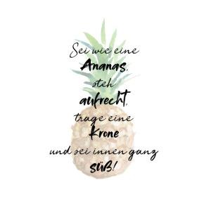 Ananas ist süß!