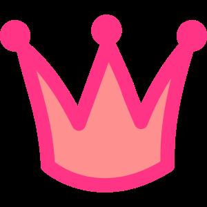 Prinzessinnen Krone Pink