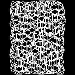 Scribble Abstrakt modern Design Geschenk minimal