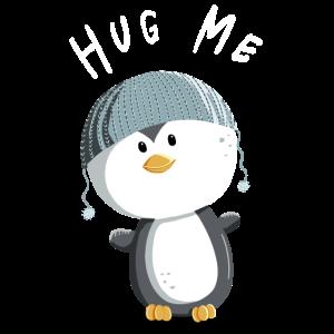 Hug Me Pinguin - Kinder - Tiere - Baby - Comic