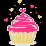 geherzter Cupcaki