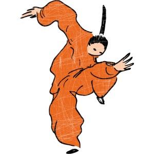 Kung Fu Comic Fighter / Vintage Look