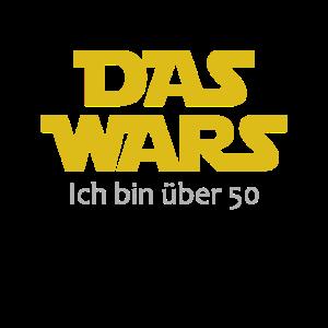 Das wars! T Shirt 50 Geburtstag Sprüche Lustig