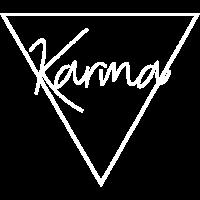 Karma Motiv Dreieck Geschenk Idee