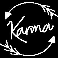 Karma Motiv Pfeile Schwarz Geschenk Idee