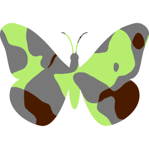 BUTTERFLY - CAMO / CAMOUFLAGE