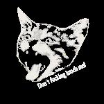 Touch me Fass mich nicht an Katze Cat Miau