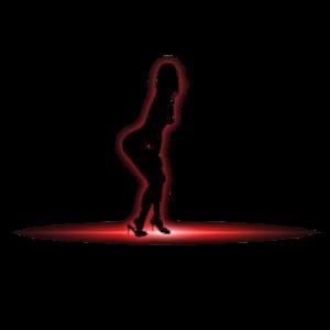 striptease geheimnisvoll idee