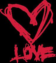 Valentinstag Shirt: love liebe heart herz valentine's day valentinstag