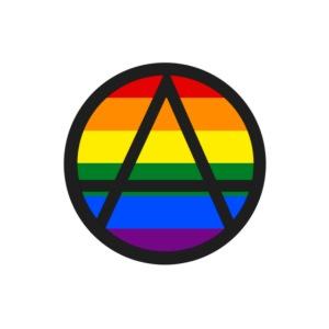 Logo ZELA drapeux gay