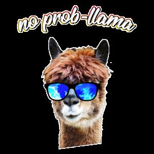 Lama   Alpaka Shirts   NO PROBLLAMA - PROB-LLAMA