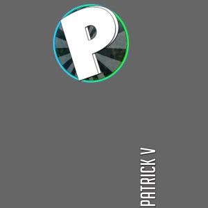 logo patrick v + name