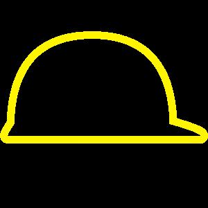 Bauhelm Outline Round Projektleiter
