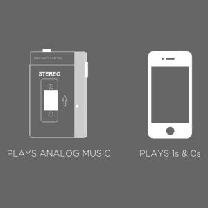 walkman analog - phone 1&0s