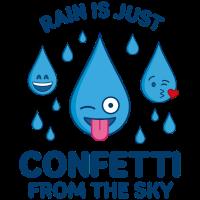 Rain Is Confetti – Emojis