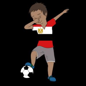 Ägypten-Fußball-Team-Flagge-Fußball Match