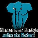 Niemand braucht Elfenbein, außer ein Elefant !