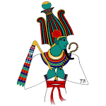 ÄGYPTEN - Osiris - altägyptische Gottheit