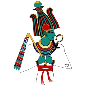 Osiris I altägyptische Gottheit