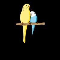 Vogel Wellensittich Lustiger Spruch Geschenk