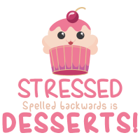 Stressed spelled backwards is Desserts Backen