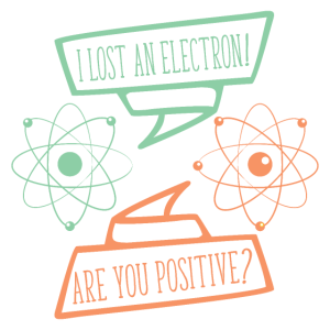I lost an Electron Lustiges Science Shirt