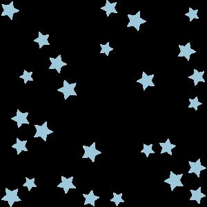 Sterne - personalisierbar und Farbe änderbar