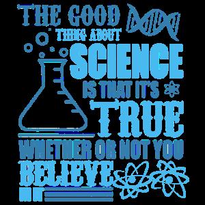 DAS GUTE AN SCIENCE SHIRT