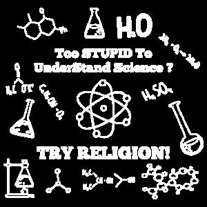 Zu dumm, um Wissenschaft Shirt zu verstehen