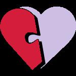 Puzzle Herz Teil-01
