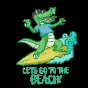CROCKSURF - Lass uns zum Strand gehen!