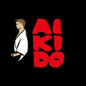 Aikido Seiza - weißer Hintergrund-