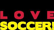 Fan-Shirt: Live Love Soccer! Deutschland