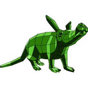 Erdferkel Aardvark Paperwolf Trend 2018 Blickfang