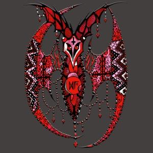 Chauve Souris Dentelle Rouge